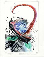 Mike Mayhew Original VENOM: FIRST HOST #1 Marvel Cover Painted Prelim