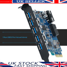 More details for orico pcie to 5 port usb 3.0 card adapter w/ 2 internal port from 19pin connetor