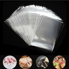 Bags Transparent Candy Plastic Bag Gift Packaging Party Cookie 100pcs Label Xmas