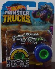 Hot Wheels Monster Trucks ~ Invader ~ Die-Cast Vehicle