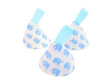 Blue elefantes Pee Pee Tipi X 3 // Wee detener conos Teepees // bebé ducha regalo