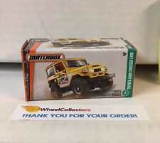 Toyota Land Cruiser FJ40 *  Matchbox Power Grabs * YA14