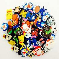 100Pcs Different Random Shoes  Charms For Hole Clogs & Wristbands Birthday Gifts