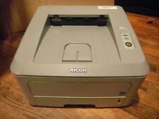 Ricoh Aficio SP 3300DN Printer Monochrome Duplex Standard Laser 28PPM + Ethernet