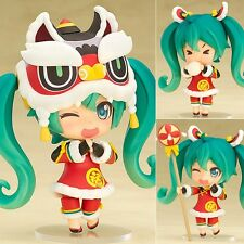NEW Japan Anime HATSUNE MIKU LION DANCE Ver Action Figure Nendoroid #654 Toy