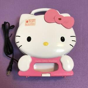Sanrio limited collaboration Hello Kitty waffle maker kitchen party goods #1485