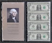 2003 A $1 Federal Reserve Notes 4 Uncut WRME FR#1931 L San Francisco L99997984A
