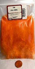Wapsi 1/4 Oz Strung Marabou Choice of Color Fast Hassle Fly Orange Mb012
