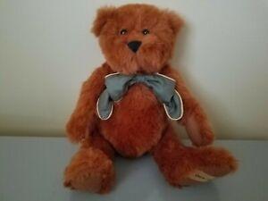 "Nice 14"" 1998 Ashton Drake Paddy O`Cinnamon Teddy Bear NICE!"