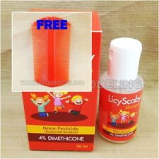 2x LICE CONTROL ANTI SHAMPOO TREATMENT TO KILL HEAD LICE NONE PESTICIDE FORMULA