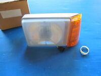 Optique de phare gauche avec clignotant ambré Forés pour Fiat Panda 30, 30S, 34,