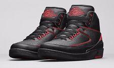 Nike Air Jordan 2 II Retro Alternate 87 Black Varsity Red SZ 12 ( 834274-001 )