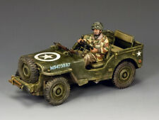 King & Country MG053 Aiborne Jeep Market Garden - Collectors Showcase PH4