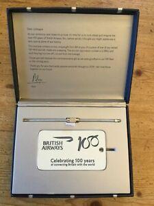 British Airways 100 years Commemorative Boeing 747 G-BNLJ Keyring