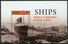Bequia Grenadines St Vincent 2013 MNH Ships Ocean Liners Lusitania 1v S/S Stamps