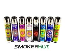 8 Clipper Lighter Set - Mandalas - Full Collection - Hippie - Spiritual - x8 pcs