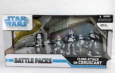 Clone Attack On Coruscant Battle Pack Star Wars Legacy Collection 2008 New MIB!