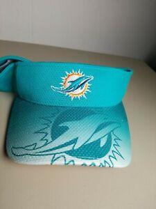 MIAMI DOLPHINS VISOR Hat SAMPLE NEW ERA BRAND NEW ADJUSTABLE