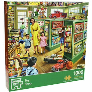 ' Vintage Toy Shop ' 1000 Piece Jigsaw Puzzle Toys & Games - New & Sealed