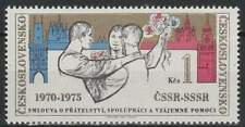 Tjechoslowakije postfris 1975 MNH 2256 - Verdrag CSSR en UdSSR