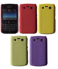 Caso de malla perforada de plástico para BlackBerry Bold 9700