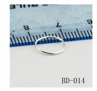 Nose Ring 925 Sterling Silver , 20g, 10mm