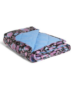 Vera Bradley Quilted Fleece Blanket in Alpine Floral--NWT--New with Tags