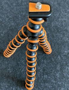 Joby Gorillapod GPD1-07 schwarz/orange mit Handyhalterung
