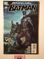 Batman Annual #28 VF/NM 1st Print DC Vol 1 2011 Artgerm Cover