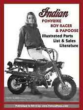 INDIAN PONYBIKE, BOY RACER & PAPOOSE ILLUSTRATED PARTS