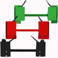 Steel Quick Tach Conversion Adapter Latch for Global John Deere Skid Steer