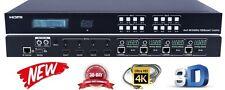 4K 4x4 HDbaseT HDMI Matrix Switcher 1080P UHD Crestron Control4 Savant HDCP 2.2