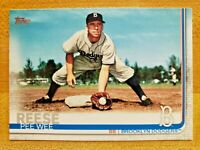 2019 Topps Series 2 SSP Photo Image Variation Parallel Pee Wee Reese #507 SP
