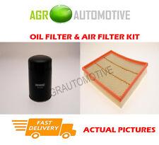 DIESEL SERVICE KIT OIL AIR FILTER FOR RENAULT MASTER T28 2.5 80 BHP 1997-00