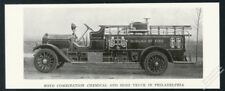 1916 Boyd fire engine Philadelphia Fire Department truck photo print article