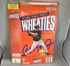 """1995 Cal Ripken Jr. """"2131 Consecutive Games"""" Wheaties Box Baltimore Orioles"""