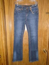 Women's Grace in LA. Boot Cut Denim Jeans Size 8 M New! #1