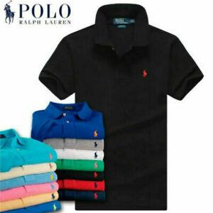 Polo Ralph Lauren T Shirt Crew Neck Short Sleeve Tees Small Pony Casual Wear