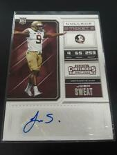 Josh Sweat 2018 Contenders Draft Picks Auto Autograph RC #214 Eagles MZ
