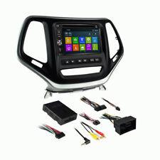DVD GPS Navigation Bluetooth Radio and Dash Kit for Jeep Cherokee 2014-2017