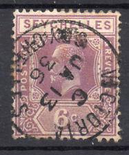 Seychelles KGV 6c 1921-32 SG104-Nice cancel  1936