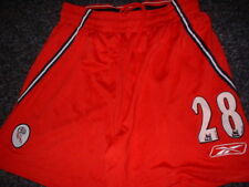 Bolton Wanderers Vaz Te Player Shorts Reebok XL Football Soccer Jersey Shirt