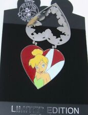 LE 300 DELUXE Disney Pin ✿ Locket Tinker Bell Tink Jewel Cameo Heart Crystals