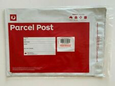 NEW Australia Post Pack of 10 x Parcel Post (Red) Satchels 3kg Prepaid Tracking!