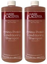 2x Hask Placenta AMINO PROTEIN Conditioning Shampoo w/ NATURAL PLACENTA 32ozEach