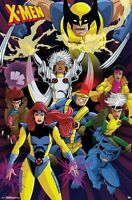 X-MEN - CHARACTER COLLAGE POSTER - 22x34 - MARVEL COMICS 17384