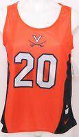 NEW Virginia Cavaliers 20 Nike Orange Reversible Lacrosse Jersey Men's M
