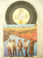 TRAVELING WILBURYS END OF THE LINE / CONGRATULATIONS German issue N/M 45 rpm