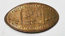 1933 Worlds Fair American Indian Villages World Fair Chicago 1928 Elongated 1c