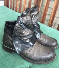 Airstep Damenschuhe Stiefeletten Boots Leder Gr 37/38